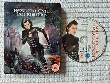 Resident evil retribution blu ray steelbook
