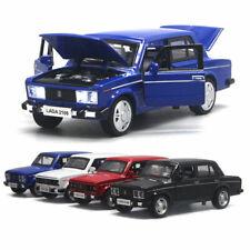 1:32 VAZ Lada 2106 Model Car Diecast Toy Cars Kids Boys Gift Pull Back Vehicle