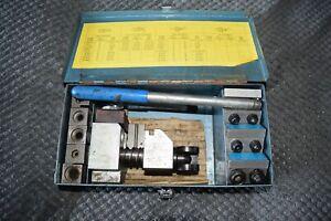 brake pipe flaring tool kit 3/16'' 1/4'' 3/8'' 5/16 ''1/2'' 4.75 mm complete
