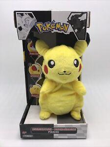Pokemon Pikachu Reversible Plush - Jakks Pacific 2011 - TRANSFORMS TO POKEBALL!