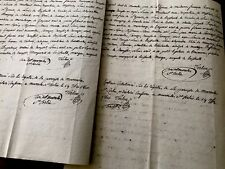 TWO Marriage Contract Documents