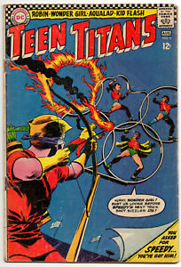 TEEN TITANS, Vol. 1 #4 - July-August 1966 - DC Silver Age Classic!