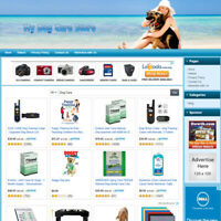 DOG CARE STORE: Online Affiliate Business Website For Sale, Great Home Based Job