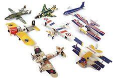 3D Airplane Puzzles, Set of 4, 2 Planes per Puzzle