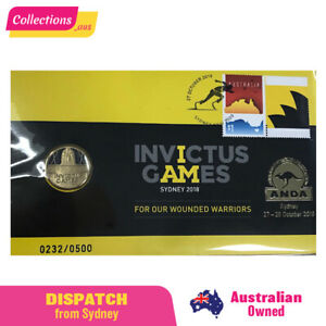 2018 ANDA Sydney - Invictus Games PNC - Limited Edition 232/500 - FREE Shipping!