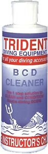 Trident Scuba Diving BCD Cleaner Conditioner 8 Oz. Bottle