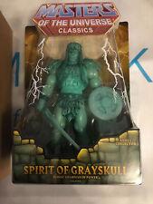 SPIRIT OF GRAYSKULL (He-Man)Masters of the Universe MOTUC Classics MOC NEU! NEW!