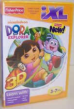 "NEW! Fisher Price IXL Learning System ""Dora The Explorer"" CD-ROM {2842}"