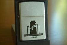 ZIPPO Lighter, 29211 A Week's Trial, Then All ..., 1939 Rep, 2002, Sealed , M985