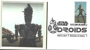 First Day Cover SC#5573 Star Wars Droids IG-11 May 4 2021