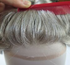 Mens Toupee French Lace Front Hair Replacement System Hairpieces Mono Base #565