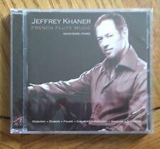 Jeffrey Khaner - French Flute Music CD Avie Recs (New & Sealed)