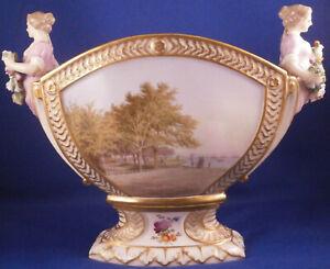 Antique Royal Copenhagen Porcelain Bough Bulb Flower Pot Porzellan Kopenhagen #1