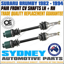 OEM QUALITY CV JOINT DRIVE SHAFT SUBARU BRUMBY 82-94 LEONE 79-84 LEFT & RIGHT
