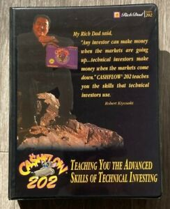 Cashflow 202 Rich Dad Poor Dad Get Out of the Rat Race Board Game(cassette tape)