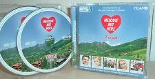 HANSI HINTERSEER, RONNY, NICOLE,  ua. - MELODIE MIT HERZ -TIROL  (2 CD's)
