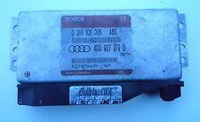 Audi A4 B5 A6 Steuergerät für ABS 4D0907379D 0265108005 - Geprüft - Top -