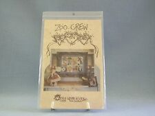 Once Upon A Vine Zoo Crew Sampler Wall Quilt Animals Pattern Instructions New