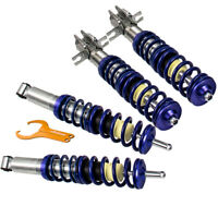 KIT SUSPENSION COMBINE FILETE pour VW Golf I 17 Scirocco 53 Jetta I 16 NOUVEAU