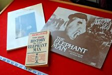 ELEPHANT MAN 1980  UK PRESSBOOK & 2 other books true story book of film