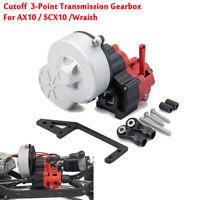 Cutoff Gearbox Transmission Case For 1:10 RC Crawler Car Axial AX10 SCX10 Wraith