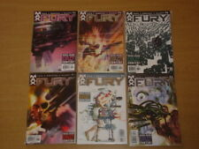 FURY #1-6 MARVEL MAX COMICS GARTH ENNIS SET 2001 SET (6)