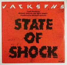 "Jacksons State Of Shock Maxisingle 12"" UK 1984 con Mick Jagger"