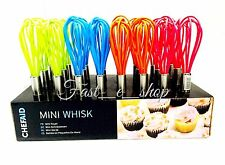 ChefAid Mini Balloon Whisk Stainless Steel With Silicone Head - Colours - 1x