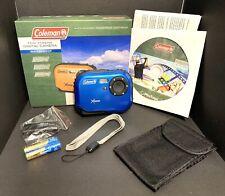 Coleman C3WP-BL Mini Xtreme 5.0MP 8X Zoom Waterproof Digital Camera Blue