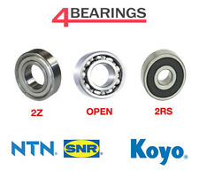 6000-6300 KOYO/NTN Open/2RS/2Z Standard/C3 Clearance Deep Groove Ball Bearings