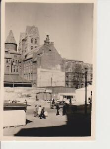 BREMEN * EIS - PAVILLON * Marienkirche * orig. Foto * 16.4.1949 *