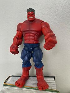 Marvel Legends Red Hulk BAF complete