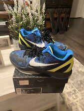 Men's Nike Zoom Kobe VI Blue Camo Size 9 with box Mamba Mentality