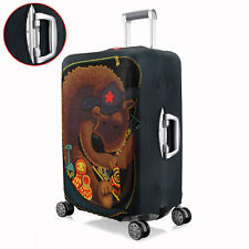 """Bear Pattern Elastic Spandex Cover Luggage Protector For 26""""~28"""" Travel Suitcase"""