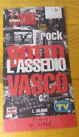 VASCO ROSSI 1995 BIGLIETTO SAN SIRO MILANO CONCERT TOUR SOTTO L'ASSEDIO