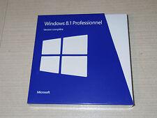 MICROSOFT WINDOWS 8.1 PROFESSIONNEL FRANCAIS 32 BITS et 64 BITS ORIGINAL NEUF