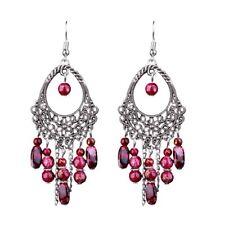 BOHO BEAD TASSEL DANGLE DROP EARRINGS Bohemian Gypsy Ethnic Indian Jewellery
