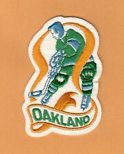 OLD NHL HOCKEY OAKLAND SEALS PLAYER JERSEY PATCH Unsold Stock