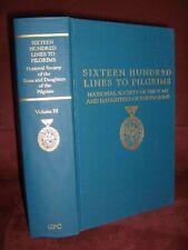 Sixteen Hundred Lines To Pilgrims Genealogy Book
