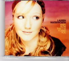 (FM50) Lauren Water Worth, Baby Now That I've Found You - 2002 CD