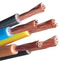 Elettrico Cavo Filo Lgy 70℃ 1x1.5mm Flessibile Rame PVC Isolato Nero Rohs