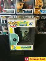 SPONGEBOB SQUAREPANTS SQUIDWARD FUNKO POP VINYL FIGURE #27 VAULTED / RARE NEW
