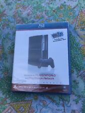 (NEW SEALED) PLAYSTATION 3 PS3 WELCOME BLU-RAY DISC TUTORIAL CD INTRO