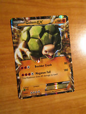 LP Pokemon GOLEM EX Card GENERATIONS Set 46/83 XY Ultra Rare 20th Anniversary