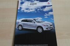 138771) Mitsubishi ASX - Intro Edition - Prospekt 10/2012