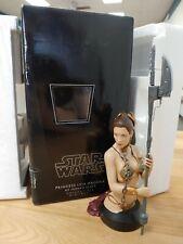 Princess Leia Gentle Giant Mini Bust Star Wars, Jabba Slave, ROTJ