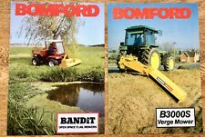 Bomford & Evershed Bandit Flail & B3000S Verge Mowers Brochures & Specifications