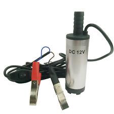 12V Tauchpumpe Wasserpumpe Bootpumpe Pumpe Transfer fr Diesel Öl Heizöl Auto KFZ