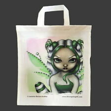 *SPEARMINT SPRITE* Fantasy Strangeling Fairy Tote Bag By Jasmine Becket-Griffith