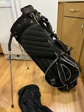Ogio 8 Way Carry/Stand Double Strap Golf Bag Woode Club Management W/ Rain Cover